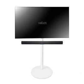 Vebos tv standfuß Denon HEOS Home Cinema Soundbar weiß