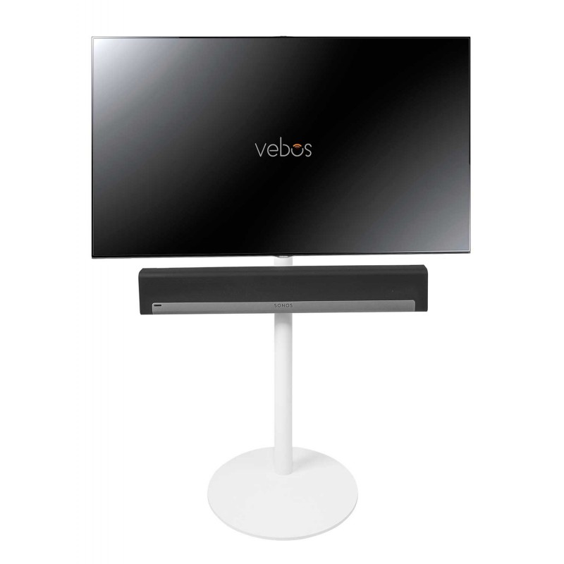 vebos tv standfu sonos playbar wei. Black Bedroom Furniture Sets. Home Design Ideas